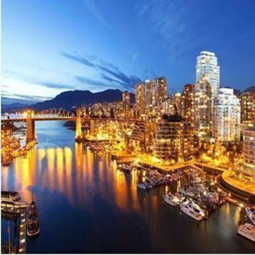 Immagine di Dalla Columbia britannica alla California